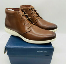 Cole Haan Men's Grand Tour Chukka Boot Leather Woodbury Ivory