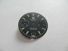 Cadran Montre Tissot Seastar Navigator Vintage - Valjoux 7734 - Noir