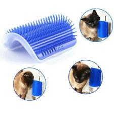 New Pet Cats Supplies Device Self Groomer Cat Massage Catnip Toy Cat Brush Tool