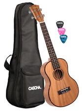 Cascha HH 2048 premium Mahogany tenor ukulele