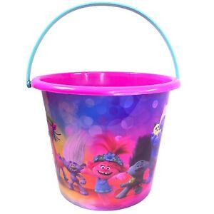TROLLS World Tour JUMBO Plastic Trick Or Treat Bucket Easter Party Favors