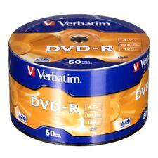 50  DVD-R VERBATIM 16X 4.7 GB SUPPORTI vergini Advanced Azo MATT SILVER