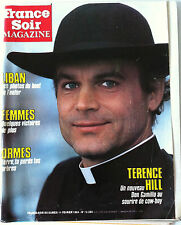 France Soir Magazine du 11/02/1984; Terrence Hill/ Nina Klepp/ Etalon Français