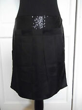 Women's Size 12  Sugar Reef Skirt NWT Black Party Evening Occasional Smart