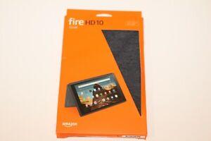 GENUINE Amazon Fire HD10 7th/9th Gen Case - Charcoal Black OPEN BOX