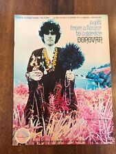 Donovan A Gift From A Flower To A Garden Songbook 1968 Sheet Music