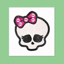 Monster high anniversaire fête robe fantaisie paillettes body jewelry skull skullette