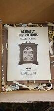 Vintage Emperor Mantle Clock With Chime NOS