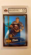 Jack Eichel 2015-16 Fleer Precious Metal Gems Blue Rookie #9/50 KSA Graded 9.5!!