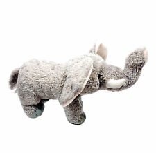 Aurora World Plush 2014 Grey Elephant 14in Standing Stuffed Animal Toy