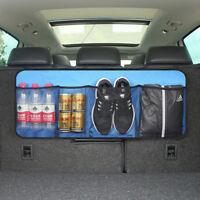 Car Trunk Back Rear Backseat String Holder Storage Organizer Hanging Mesh Bag