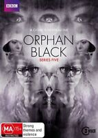 Orphan Black Series Season Five 5 Fifth DVD NEW Region 4