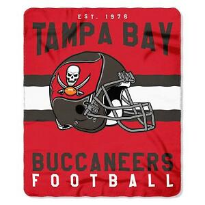 "Tampa Bay Buccaneers 50"" x 60"" Singular Fleece Throw Blanket by Northwest"