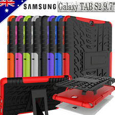 """Heavy Duty Tough Case Strong Cover For Samsung Galaxy Tab S2 9.7"""" T810 T815"""