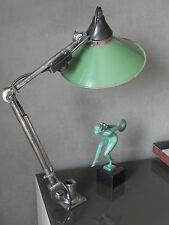 antique Desk floor Machine age lamp wall LIGHT articulating Rademacher vintage