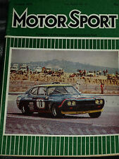 ROTHMANS 50000 F1 1972 Paul Ricard 6 H Brian Muir Miles FORD CAPRI 2600 RS