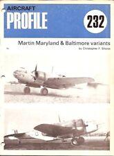 Monograph - Martin Maryland & Baltimore Profile (MN34)