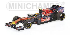 Minichamps Toro Rosso Red Bull STR5 Jaime Alguersuari 2010 , 1:43 Fahrmodell #17
