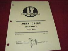 John Deere 6030 Tractor I&T Shop Manual