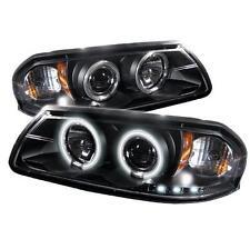 Projector Head Lights Lamps Chevy Impala 2000-2005 CCFL LED - Black