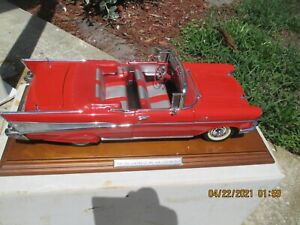BEAUTIFUL DANBURY MINT LIMITED EDITION 1/12 SCALE 1957 CHEVROLET BEL AIR