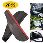 2x Car Rear View Rain Board Eyebrow Guard Side Mirror Sun Visor Accessories NEW