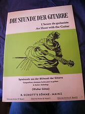 Partition Guitare L'heure du Guitariste Walter Gotze 1962 Music Sheet