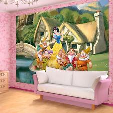 Poster la fresque papier peint papier peint princesse Disney Enfants Nain 3fx596p4