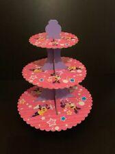 48 X 3cm Disney Princesa Hada Cup Cake Toppers Comestible Oblea De Papel De Arroz