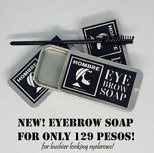 Brow Soap Hombre Eyebrow Soap Volumizer Clear Dark Brown 20 grams