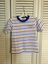 Peanuts Snoopy Athletic Dept. Striped Shirt Toddler Size L Embroidered NEW!