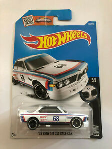 HOT WHEELS WHITE 1973 '73 BMW 3.0 CSL RACE CAR BMW 5/5 190/250