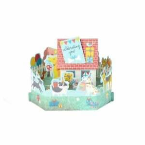 Hallmark Paper Wonder Celebrating You! 3D Pop Up Birthday Card 25522156