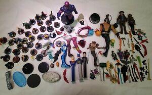 Marvel Mattel Action Figure Huge Lot Lego Pez Joker Wiz kid Games Accessories