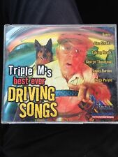 Triple M's Best Ever Driving Songs 2 Disc CD, Queen, The Clash, Deep Purple Etc