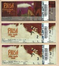 Phish Halloween Ticket Stubs 2013, October 31, November 1 + 2 Ptbm Lotto