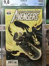 Avengers 28 cgc 9.0 second print htf ghost rider silver surfer