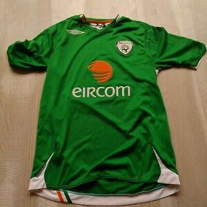 Republic of Ireland Team Jersey Home football shirt 2006-2008 Umbro Mens Size S