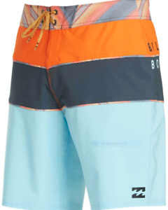 BILLABONG MENS TRIBONG X BOARDSHORTS BLUE, BLUE PERFORMANCE New!!!