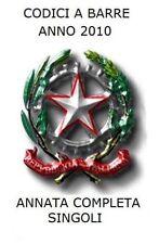 2010 - Annata completa con codice a barre