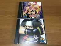 SNK Neo Geo CD The King of Fighters 94, 95 SET KOF Team Edit Battle