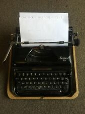 Vintage Retro EVEREST K2 Typewriter 1950s  Rare Earlier Model  Free UK 🇬🇧Post