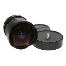Walimex Pro 8mm 1:3,5 Fisheye-Objektiv mit manuellem Fokus für Canon EOS (APS-C)