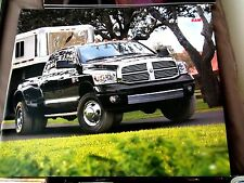 2007 DODGE RAM 1500-3500 SALES BROCHURE for FULL PRODUCT LINE-NEW