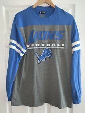 NFL MEN LONG SLEEVE SHIRT SIZE L MEN LIONS DETROIT