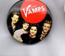 THE VAMPS BUTTON BADGE British Pop Rock Band - Can We Dance  25mm PIN Badge
