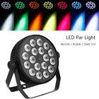 18x12W Stage Par Light RGBW 4in1 LED Par64 Washer DMX512 4CH 8CH DJ Lighting New