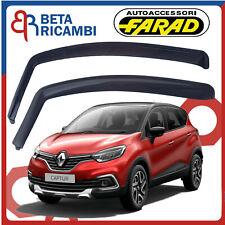 Deflettori Aria Per Renault Captur 5 Porte 2013>Antivento Antipioggia Fumè 12608