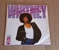 """Whitney houston - so emotional  12""""  vinyl single"""