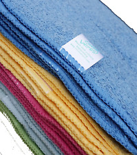 Rainbow Bamboo Terry Cloth Baby Wipes Washable Reusable 25